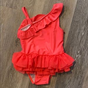 Cat and Jack girls pink swimsuit 4t